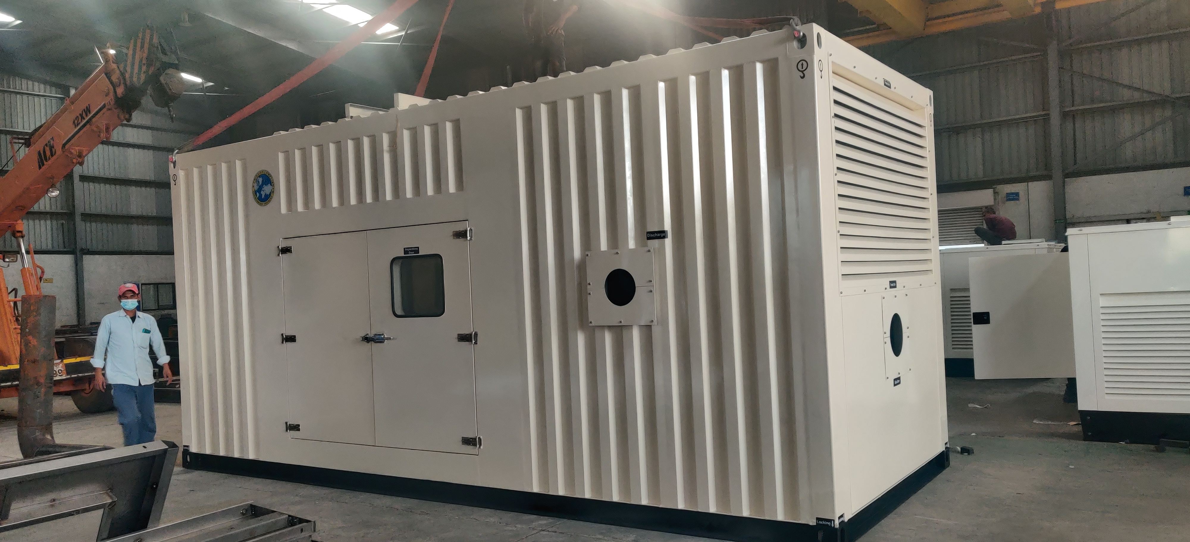 supplied Engine Driven 750 HP pumps compliance to Atex
